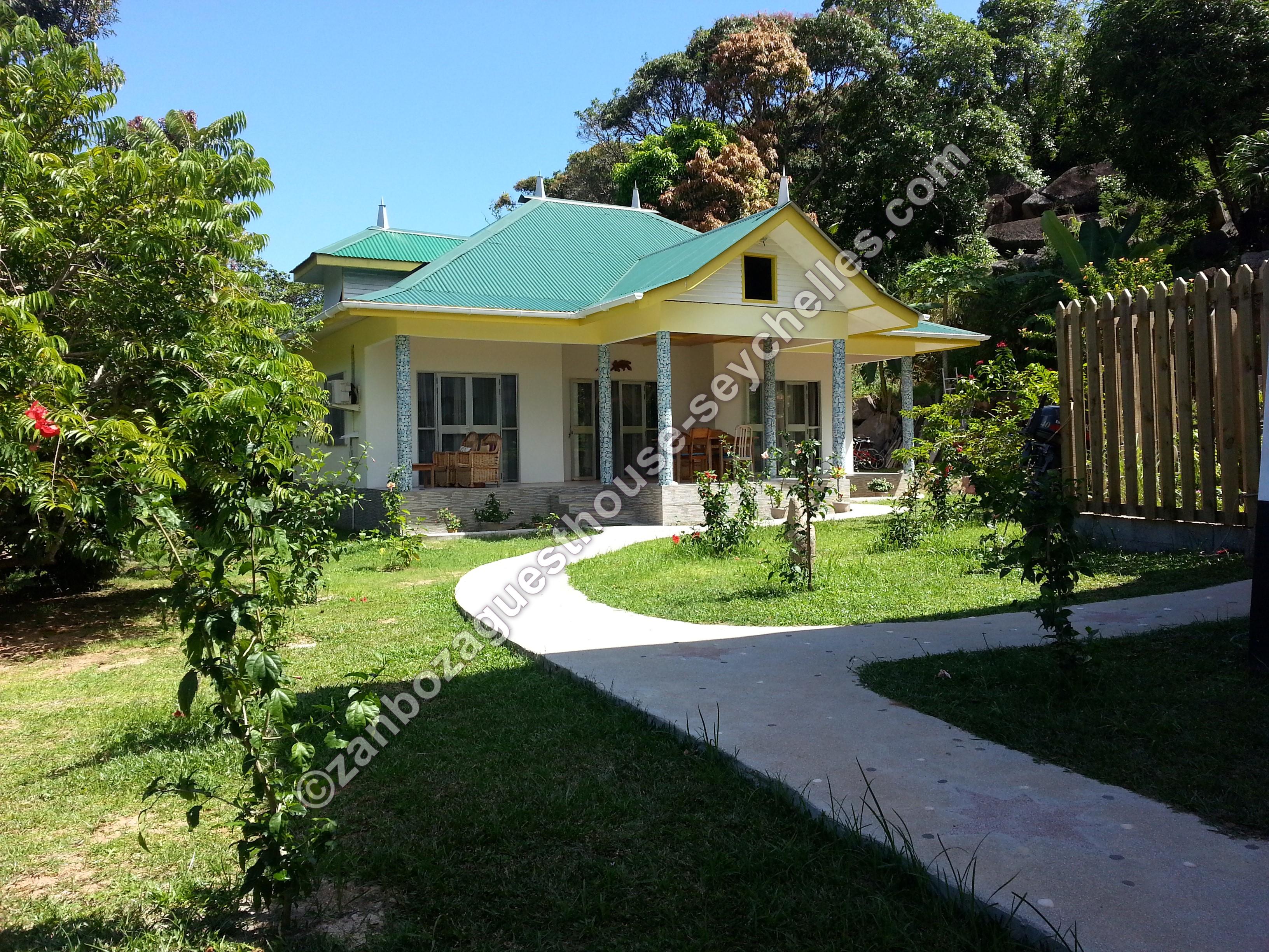 welcome zanboza guesthouse b u0026b la digue seychelles
