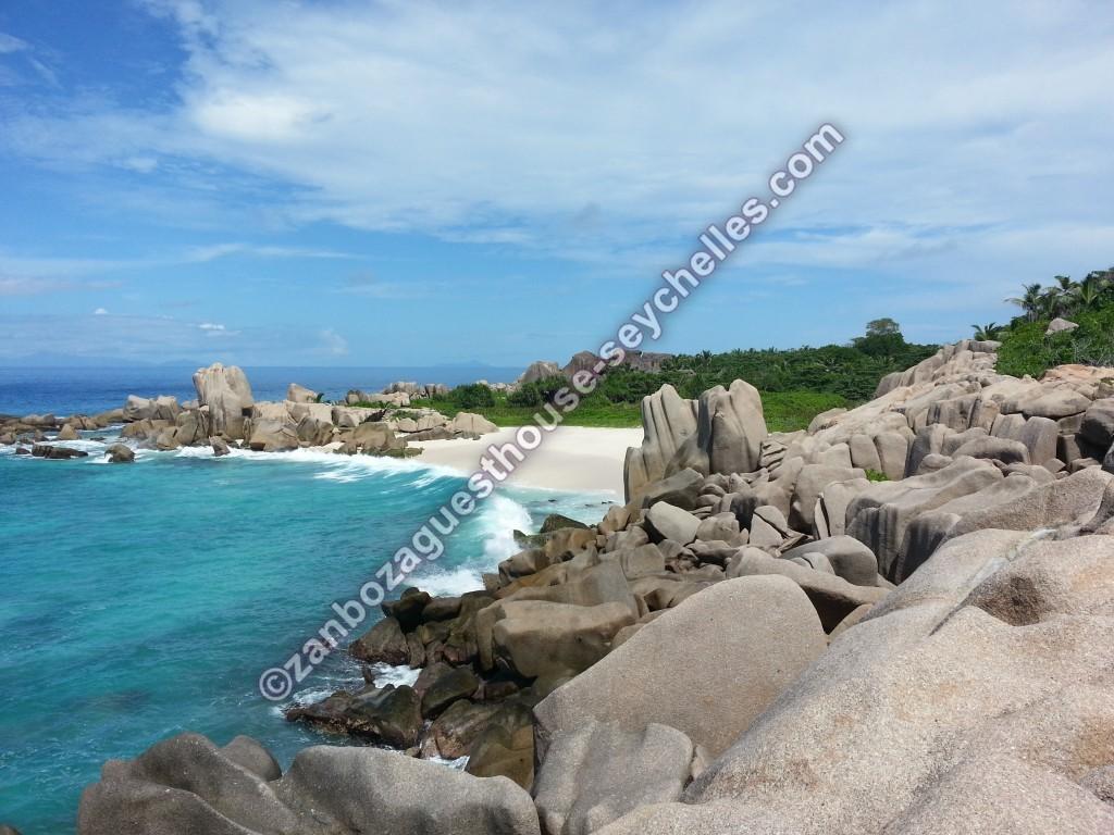 Anse Marron La Digue Seychelles