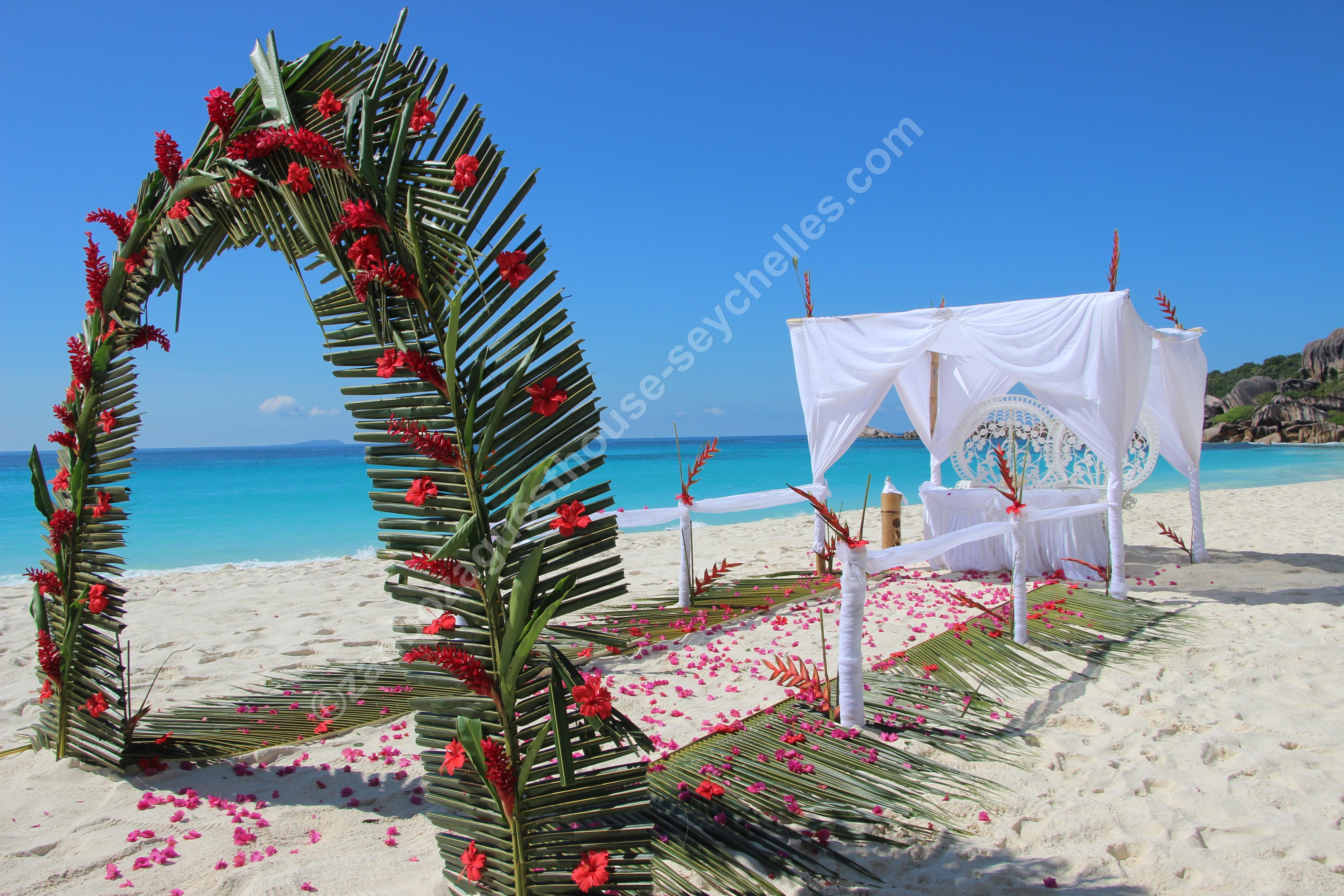 Matrimonio Civile In Spiaggia : Weddings zanboza guesthouse b la digue seychelles